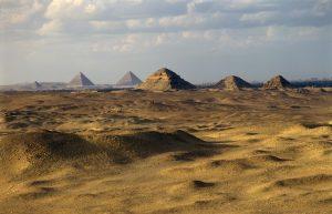 Abusir pyramids